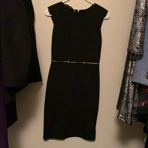 Used- black dress- Kardashian Kollection size XS